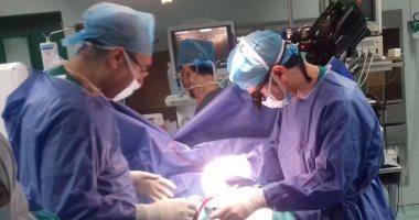 بالصور نجاح أول عملية قلب مفتوح بمستشفى جامعة المنصورة اليوم