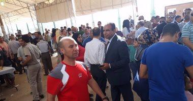 إقبال من أعضاء نادى الرواد على التصويت فى إنتخابات مجلس الادارة
