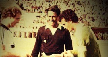 المصرى يحتفل بفوزه على فرانكفورت الألمانى فى الاحتفال باليوبيل الذهبى عام 1980