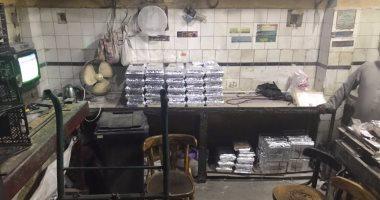 القبض على صاحب مصنع حلويات بدون ترخيص يستخدم مواد مجهولة بالشرابية