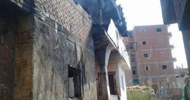 نيابة كفر صقر تأمر بضط 7 متهمين جدد فى إشعال النيران بعدد من المنازل