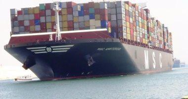 مهاب مميش : عبور 48 سفينة بحمولة 2.4 مليون طن