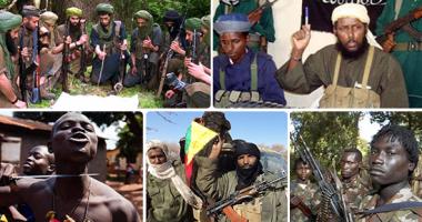 """بالصور.. الخريطة الكاملة للمسلحين والإرهابيين فى أفريقيا.. 22 جماعة وتنظيم ومليشيا بالقارة السمراء..""""بوكوحرام"""" وحركة الشباب و""""أنتى بالاكا"""" و""""جيش الرب"""" الأكثر خطورة بالساحل الأفريقى..و""""شيكاو"""" القائد الذى لا يموت"""