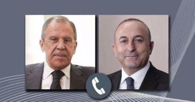 فى اتصال هاتفى.. لافروف وأوغلو يبحثان التسوية السورية