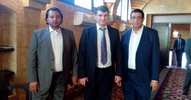 قنصل روسيا يزور مسجد الصحابة بمدينة شرم الشيخ