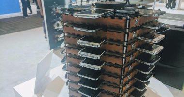 سامسونج تستعين بـ40 هاتف جلاكسى S5 لبناء جهاز تعدين بيتكوين