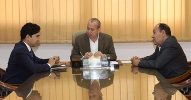 محافظ دمياط يلتقى محمد الزينى وضياء داوود لبحث الحد من زيادة أسعار الخشب