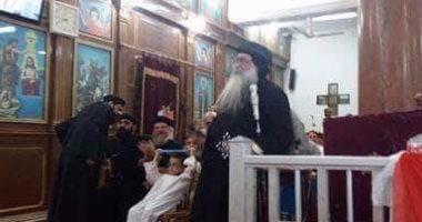 كنيسة الملائكة ميخائيل تحتفل بعيد تجليس الانبا تكلا بدشنا