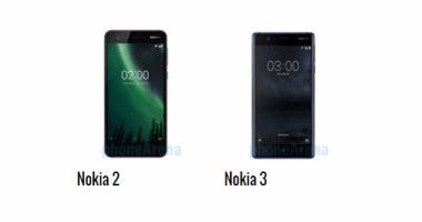 إيه الفرق.. أبرز الاختلافات بين هاتفى نوكيا 2 ونوكيا 3