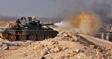 الجيش السورى يسيطر على 7 مناطق بريف حماة الشرقى -