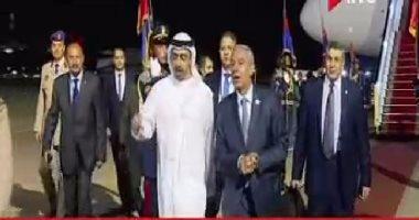 وصول وزير الخارجية الإماراتى للمشاركة بمنتدى شباب العالم فى شرم الشيخ