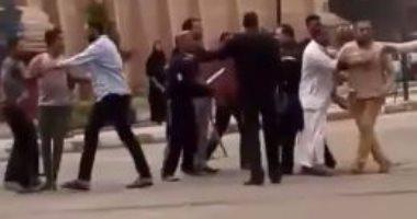إصابة طالب بجامعة سيناء فى اشتباكات مع موظفى بريد المساعيد بالعريش