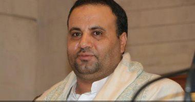 صالح على الصماد القائد الأعلى لعناصر ميليشيات الحوثي العسكرية