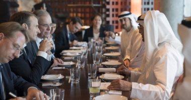 ولي عهد أبوظبي يبحث مع الرئيس الفرنسي العلاقات الثنائية وسبل تعزيزها