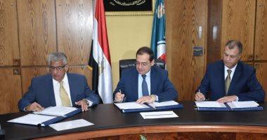 توقيع اتفاقية للتنقيب عن البترول بمنطقة عش الملاحة باستثمارات 2.4 مليون دولار -
