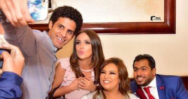 """إسراء عبد الفتاح لويزو بعد زواجها: """"مفيش مصيبة بعملها إلا وهى معايا"""""""