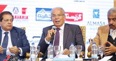وزير التنمية المحلية: ندرس جعل بورسعيد تنافس سنغافورة فى عدد الحاويات
