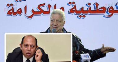 مرتضى منصور لـ أحمد سليمان :  اوعى تنسحب.. هديك 10 آلاف صوت من عندى  -