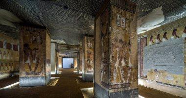 باستخدام طابعة ثلاثية الأبعاد.. إحياء مقبرة الملك سيتى الأول بسويسرا (صور)