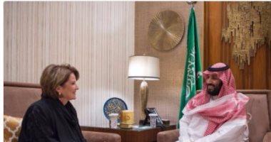 محمد بن سلمان يبحث مع شركة لوكهيد الأمريكية تعزيز التعاون الصناعى والعسكرى