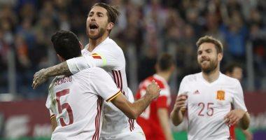 شاهد.. إسبانيا تتعادل أمام روسيا 3-3 فى مباراة ماراثونية