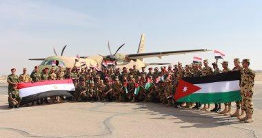 """صور..القوات المسلحة المصرية والأردنية تنفذان التدريب المشترك """"العقبة 3"""""""