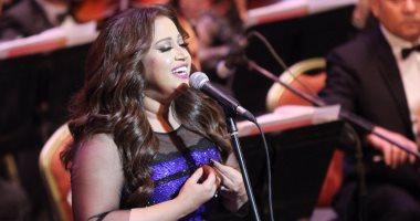 """ريهام عبد الحكيم بعد تكريمها فى مهرجان الموسيقى:""""شرف كبير إنى أتكرم فى بيتى"""""""