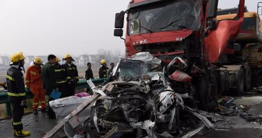 مصرع وإصابة 4 أشخاص فى حادث تصادم بالبحيرة