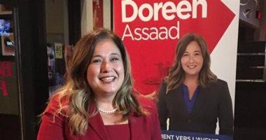 """أول عمدة كندية مصرية لـ""""اليوم السابع"""": شعبنا يحب مصر وحزن لحادث الروضة"""