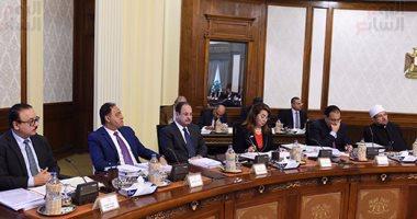 صور.. بدء اجتماع الحكومة الأسبوعى لمناقشة تعديلات قانون البناء الموحد