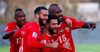 """""""فيفا"""" يحتفل بتطور منتخب فلسطين وتأهله لكأس آسيا 2019"""