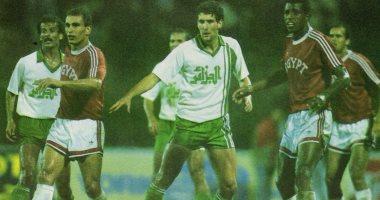 الفيفا يحتفل بذكرى صعود منتخب مصر لمونديال 90 -