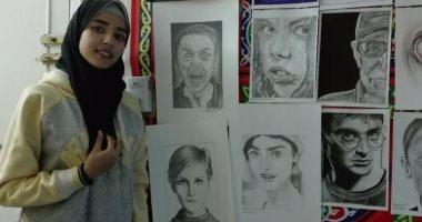 القارئة خلود أحمد ترسل مجموعة من رسوماتها لصحافة المواطن بالرصاص والفحم