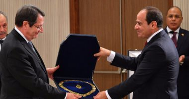 الرئيس السيسي يؤكد على خصوصية وتميز العلاقات المصرية القبرصية