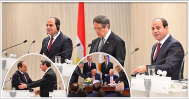 الرئيس السيسي يؤكد أهمية العلاقات بين القاهرة ونيقوسيا أمام البرلمان القبرصى