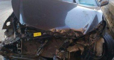 إصابة 13 شخصًا فى حادث انقلاب ميكروباص ببنى سويف