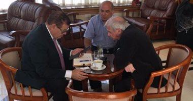 اجتماعات لرجال الأعمال المصريين في قبرص بالتنسيق مع مكتب التمثيل التجارى