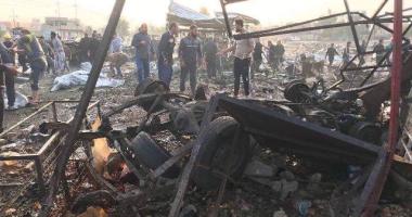 مقتل شخص وإصابة 7 أشخاص فى انفجار سيارة مفخخة بالأنبار