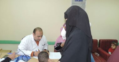 مديرية أمن كفر الشيخ تنظم قافلة طبية للكشف علي المواطنين مجاناً