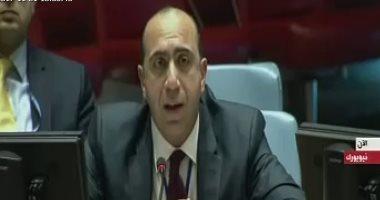 مندوب مصر بمجلس الأمن