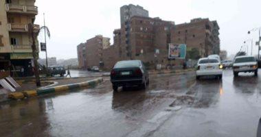 أمطار غزيرة على جميع أنحاء الإسكندرية.. وانتظام حركة السفن بالميناء 20171121100154154.jp