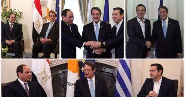مصدر بالبترول: زيارة السيسى لقبرص تساهم فى تنفيذ اتفاقيات الغاز بين الطرفين