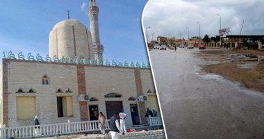 ارتفاع عدد شهداء حادث مسجد الروضة بالعريش لـ 155 شهيدا و120 مصابا