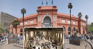توافد الزوار على المتحف المصرى منذ الساعات الأولى بأول أيام عيد الأضحى