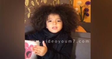 فيديو.. رسالة حزينة من طفلة ردًا على حادث العريش الإرهابى