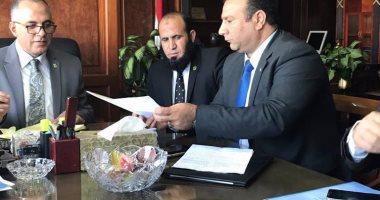 النائب علاء ناجى الموافقة على تخصيص قطعة أرض لإقامة مدرسة بمنشأة القناطر