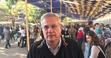 مصطفى مراد فهمى يدلى بصوته فى انتخابات الصيد (صور)