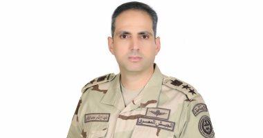 العقيد أركان حرب تامر الرفاعى المتحدث العسكرى للقوات المسلحة