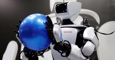 صور.. روبوت T-HR3 من تويوتا يشارك فى معرض الروبوت الدولى 2017 -