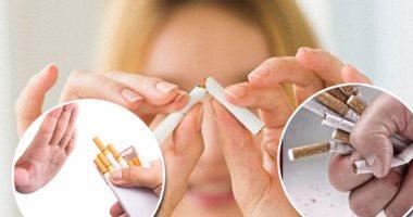 """الدولة تعلن الحرب على التدخين.. """"100 مليون صحة"""" تفتتح 30 عيادة للإقلاع عنه بــالمحافظات.. العيادات تقدم الخدمات للمواطنين مجانًا.. وتعمل من 9 لـ2 ظهرا لمدة يوم أسبوعيًا.. و21% من المصريين مدخنين"""